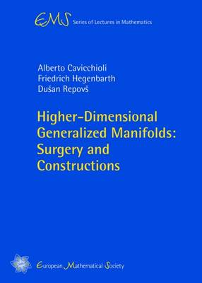 Higher-Dimensional Generalized Manifolds: Surgery and Constructions - EMS Series of Lectures in Mathematics (Paperback)