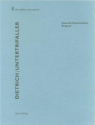 Dietrich | Untertrifaller: De Aedibus International 8 (Paperback)