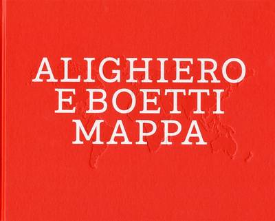 Alighieri E Boetti: Mappa (Hardback)