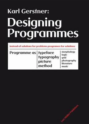 Designing Programmes (Hardback)