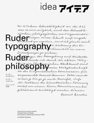 Ruder Typography-Ruder Philosophy: Idea No. 333 (Paperback)