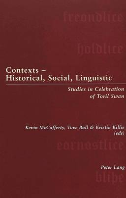 Contexts - Historical, Social, Linguistic: Studies in Celebration of Toril Swan (Paperback)