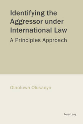 Identifying the Aggressor Under International Law: A Principles Approach (Paperback)
