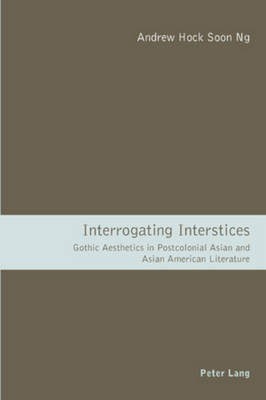 Interrogating Interstices: Gothic Aesthetics in Postcolonial Asian and Asian American Literature (Paperback)