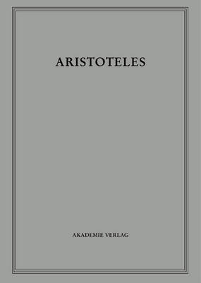 "Aristoteles: ""Nikomachische Ethik"" - Aristoteles Werke 6 (Hardback)"