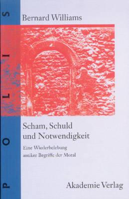 Scham, Schuld Und Notwendigkeit - Polis 1 (Hardback)