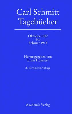 Oktober 1912 bis Februar 1915 (Hardback)
