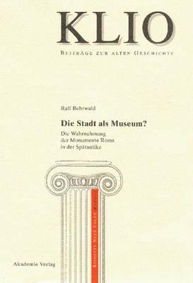 Die Stadt als Museum? (Hardback)