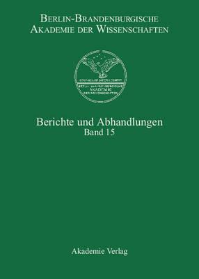 Band 15 (Hardback)