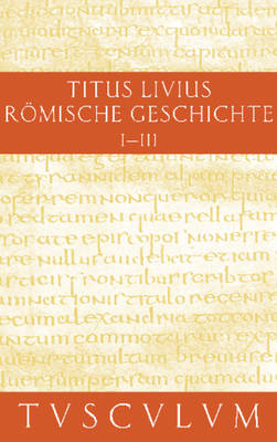 Buch 1-3 - Sammlung Tusculum (Hardback)