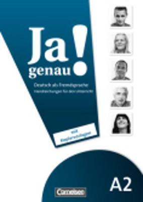 JA Genau!: Handreichungen Fur Den Unterricht A2 Band 1 & 2 (Paperback)