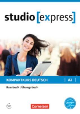 Studio Express: Kurs- und  Ubungsbuch A2 (Paperback)