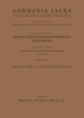 Das Bistum Brandenburg. Teil 1 (Paperback)
