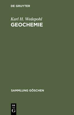 Geochemie - Sammlung Goeschen 1224/B (Hardback)
