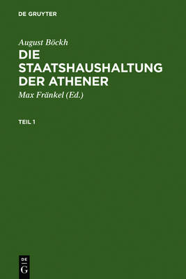 Die Staatshaushaltung der Athener (Hardback)