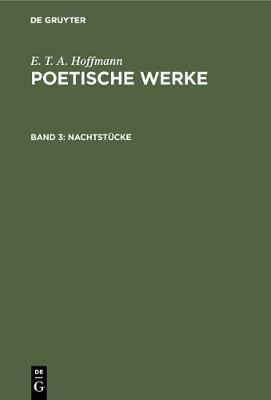 Nachtstucke (Hardback)