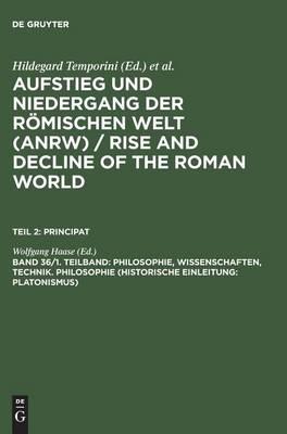 Philosophie, Wissenschaften, Technik. Philosophie (Historische Einleitung; Platonismus) (Hardback)