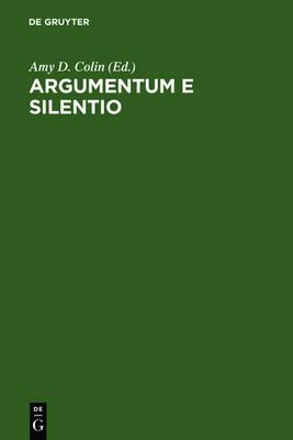 Argumentum e Silentio: International Paul Celan Symposium/Internationales Paul Celan-Symposium (Hardback)