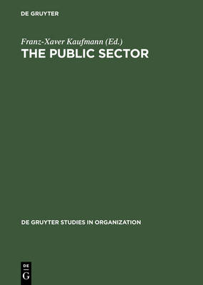 The Public Sector: Challenge for Coordination and Learning - De Gruyter Studies in Organization (Hardback)