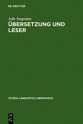 bersetzung Und Leser - Monographien Und Texte Zur Nietzsche-Forschung 30 (Hardback)