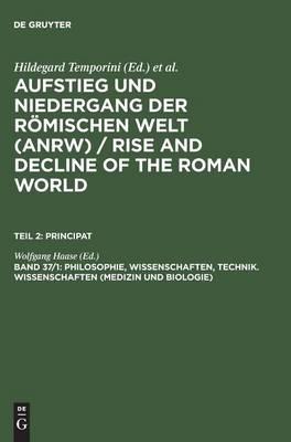 Philosophie, Wissenschaften, Technik. Wissenschaften (Medizin und Biologie) (Hardback)