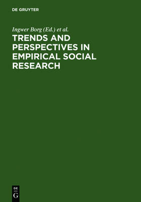Trends and Perspectives in Empirical Social Research (Hardback)
