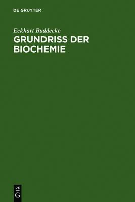Grundriss Der Biochemie: Fur Studierende Der Medizin, Zahnmedizin Und Naturwissenschaften (Hardback)