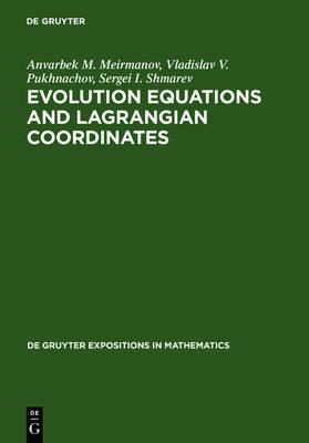 Evolution Equations and Lagrangian Coordinates - De Gruyter Expositions in Mathematics (Hardback)