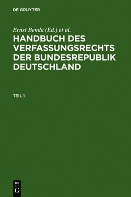 Handbuch des Verfassungsrechts der Bundesrepublik Deutschland (Hardback)