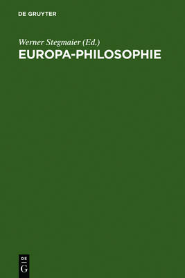 Europa-Philosophie (Hardback)