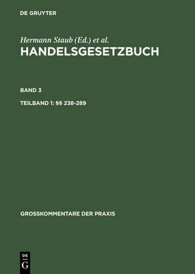 Tlbd 1: 238-289. Tlbd 2: 290-342a - Grosskommentare Der Praxis (Hardback)