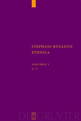 Alpha - Gamma: Adiuvantibus Jan Felix Gaertner, Beatrice Wyss, Christian Zubler - Corpus Fontium Historiae Byzantinae - Series Berolinensis (Hardback)