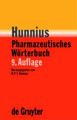 Hunnius Pharmazeutisches Worterbuch (Hardback)