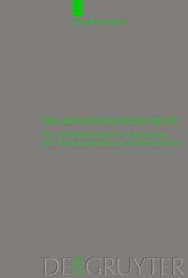 Ein unerschutterliches Reich: Die mittelplatonische Umformung des Parusiegedankens im Hebraerbrief - Beihefte zur Zeitschrift fur die Neutestamentliche Wissenschaft (Hardback)