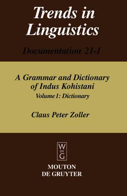 Dictionary - Trends in Linguistics. Documentation [TiLDOC] 21-1 (Hardback)