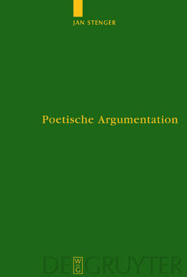 Poetische Argumentation: Die Funktion der Gnomik in den Epinikien des Bakchylides - Untersuchungen zur Antiken Literatur und Geschichte (Hardback)