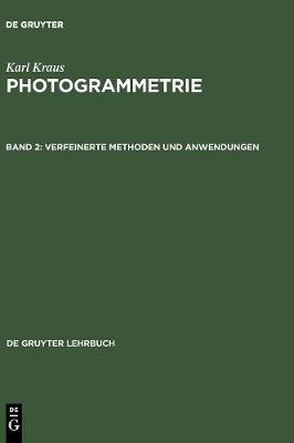 Verfeinerte Methoden und Anwendungen - De Gruyter Lehrbuch (Hardback)
