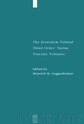 Tractate Yebamot - Studia Judaica (Hardback)