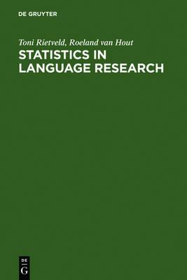 Statistics in Language Research: Analysis of Variance (Paperback)