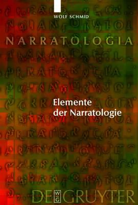 Elemente der Narratologie - Narratologia No. 8 (Hardback)