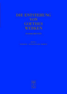 Diderot - Entoptische Farben (Hardback)