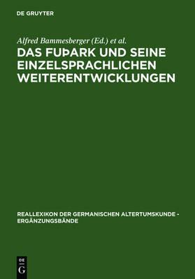 Das futhark und seine einzelsprachlichen Weiterentwicklungen: Akten der Tagung in Eichstatt vom 20. bis 24. Juli 2003 - Reallexikon der Germanischen Altertumskunde - Erganzungsbande (Hardback)