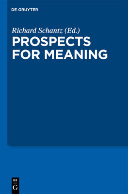 Prospects for Meaning (Hardback)