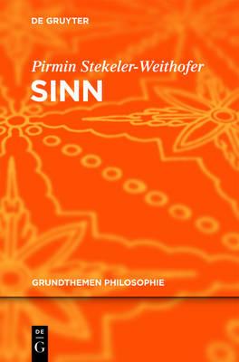 Sinn - Grundthemen Philosophie (Hardback)