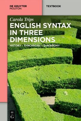 English Syntax in Three Dimensions: History - Synchrony - Diachrony - Mouton Textbook (Paperback)