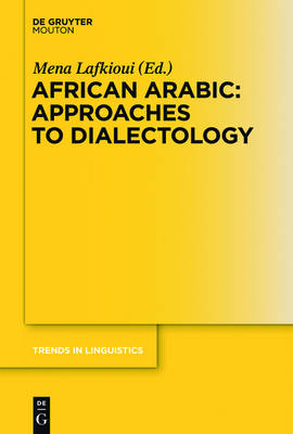 African Arabic: Approaches to Dialectology - Trends in Linguistics. Studies and Monographs [TiLSM] 258