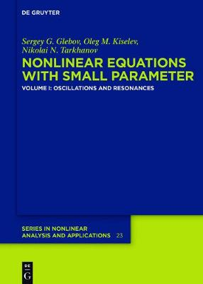 Oscillations and Resonances - De Gruyter Series in Nonlinear Analysis & Applications 23/1