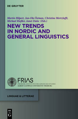 New Trends in Nordic and General Linguistics - linguae & litterae 42 (Hardback)