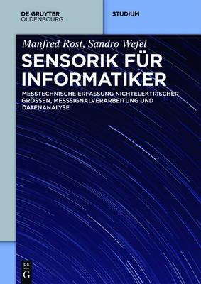 Sensorik F r Informatiker - de Gruyter Studium (Paperback)