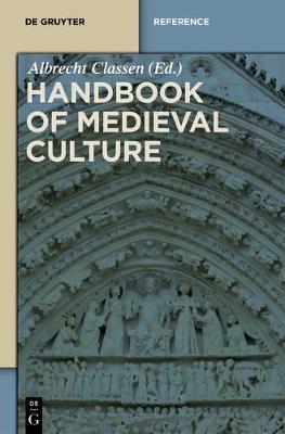 Set Handbook of Medieval Culture - De Gruyter Reference (Hardback)